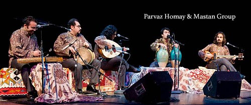 Parvaz Homay and Mastan Music Band of Iran