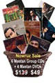Parvaz Homay and Mastan Group CDs / DVDs (10 Discs)
